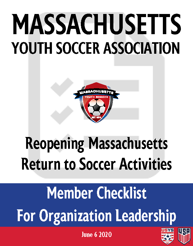 Return_to_Soccer_Activities_-_Member_Organization_Checklist_-_Front_Page