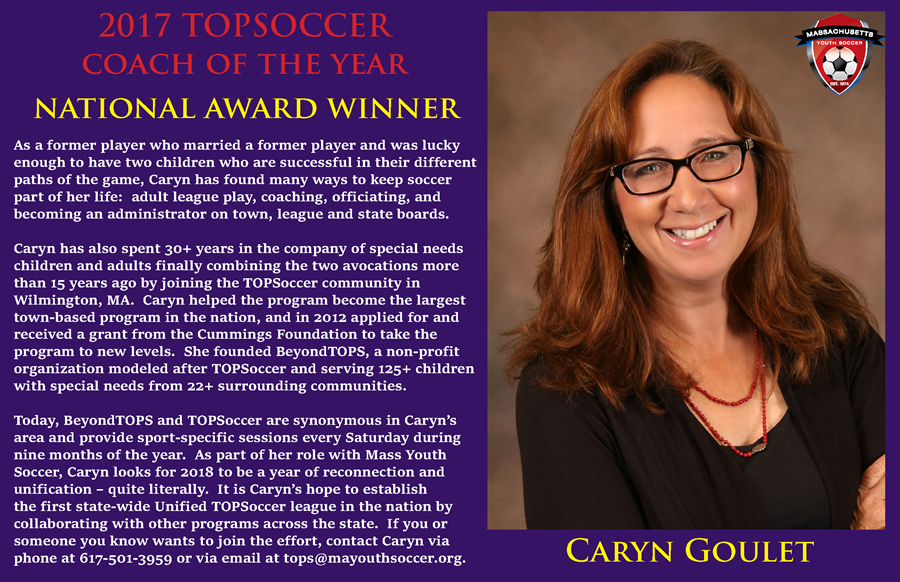 2017 TOPSoccer - Caryn